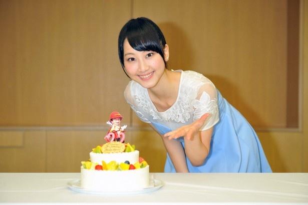 7月27日(土)に誕生日を迎える松井玲奈にサプライズでバースデーケーキが登場!