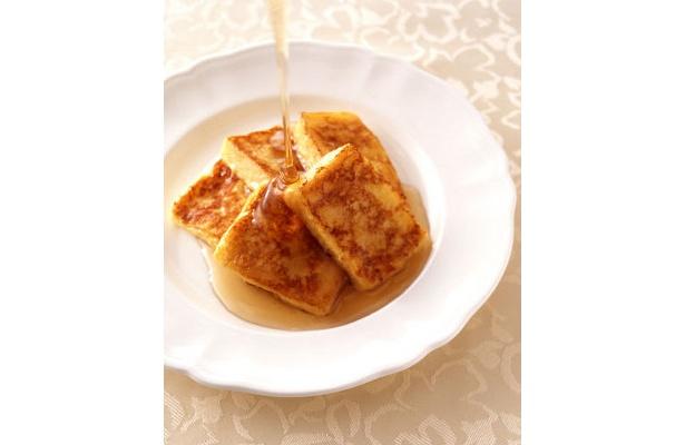 カフェテラスの「フレンチトースト」(¥350・ホテルオークラ東京ベイ)