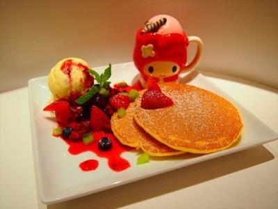 可愛いパンケーキも登場するマイメロディの期間限定カフェ!