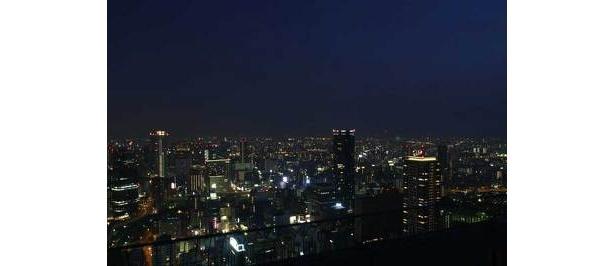 南側の夜景