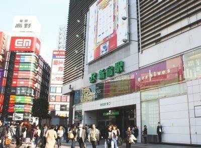 「よくお出かけする街ランキング」1位は新宿!