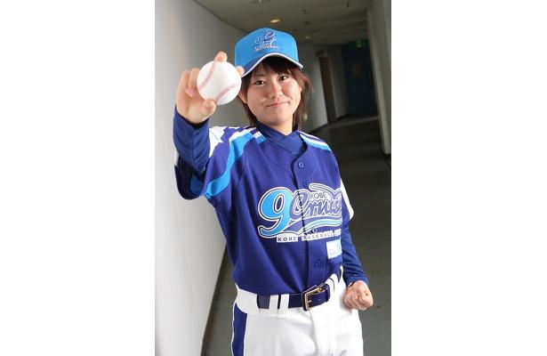 「野球をする女の子が増えて欲しいです」とえりちゃん