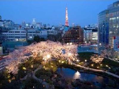 六本木ヒルズの桜も (写真提供:日本観光協会)