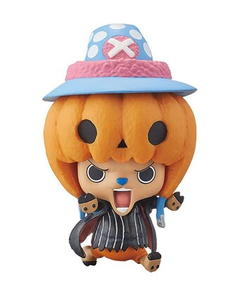 かぼちゃをかぶったチョッパー