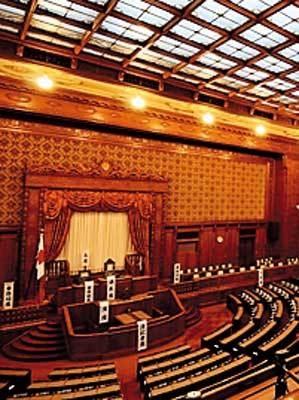 国会の本会議場は荘厳な雰囲気。歴史の重みがすごい!