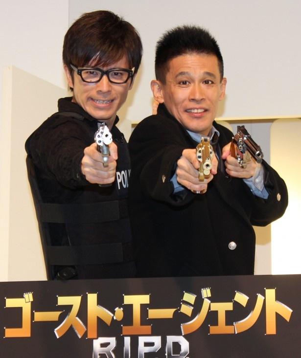 柳沢慎吾とオリラジ藤森が新コンビを結成!