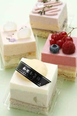 和楽紅屋の「春色」(2400円)は、4種類の味を楽しめる