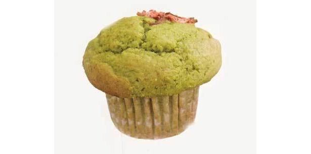 She Knows Muffin「サクラマフィン」さくら抹茶味(210円)は風味豊かな抹茶味