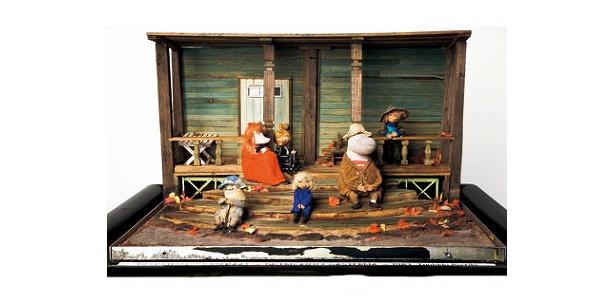 日本初公開の貴重な作品を展示。ムーミン谷博物館に展示され、門外不出だった立体模型が登場。もちろん日本初公開!※写真は[立体模型]ムーミン谷の十一月(1983年)