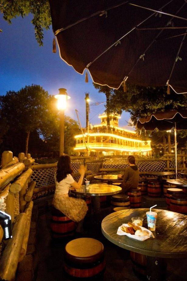 夢の国の特等席!テラスで過ごす夜の東京ディズニーリゾート