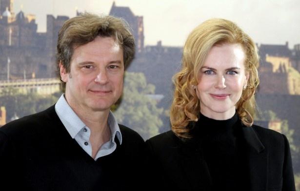 新作『レイルウェイ 運命の旅路』で主演コリン・ファースの妻役を演じるニコール・キッドマン