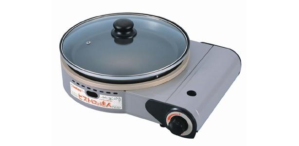 「ビストロの達人」(メーカー希望小売価格:1万500円) これ一台で、焼く・蒸す・煮るができるすぐれもの(岩谷産業)