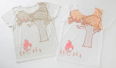 Tシャツ(3045円)も購入可能