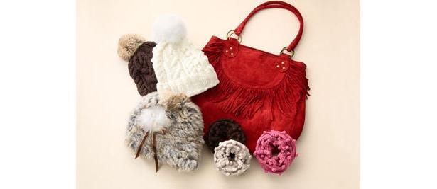 バッグが豊富にそろう「tres-mimi」