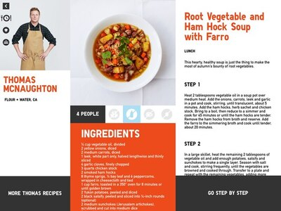 ユニクロのコンセプトであるLifeWearをイメージしたレシピが掲載