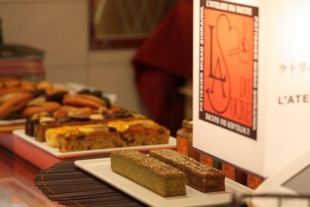 トウキョウ ラトリエ ドゥ シュクルではパウンドケーキなどを提供
