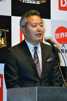 開発の経緯を語る上野社長