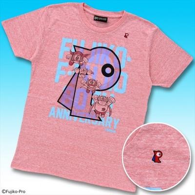 パーマン柄は、胸に刺繍されたパーマンバッチのワンポイントが特徴