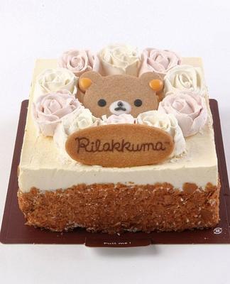12月1日(日)より予約受付がスタートする「リラックマローズケーキ」
