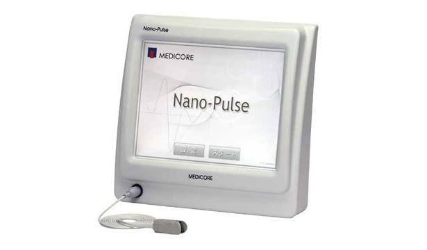 """自律神経と末梢血液循環の検査を行なう医療機器""""nano-pulse"""""""