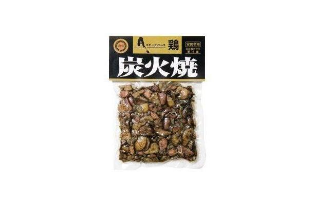 香ばしくてうまい!宮崎・鶏炭火焼(1050円)