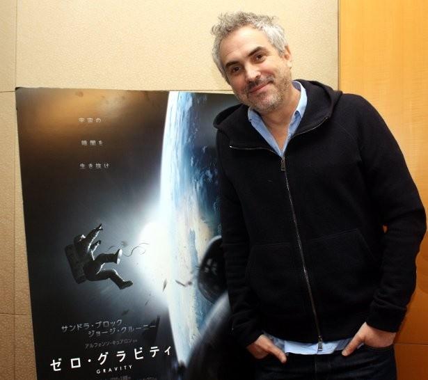 『ゼロ・グラビティ』のアルフォンソ・キュアロン監督を直撃