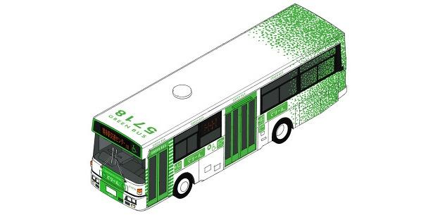 緑を基調としたデザイン