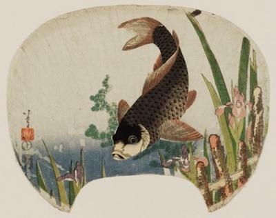 菖蒲に鯉 William Sturgis Bigelow Collection 1808-1813(文化中期)