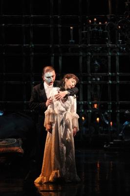 オペラ座に棲みつく怪人と美しい歌姫クリスティーヌ