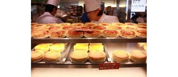 「TIO GLUTOTON juKu(ティオグラトン 熟)」のチーズケーキ