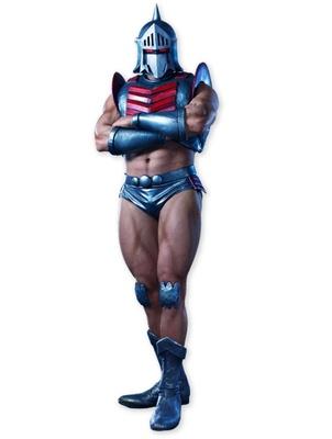 逞しい肉体を誇るロビンマスク