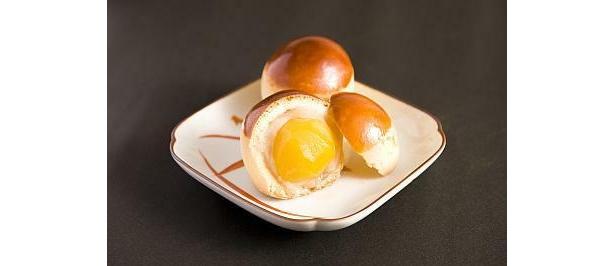 栗まるごと1個が入った「黄玉満」(250円)は絶妙な甘味