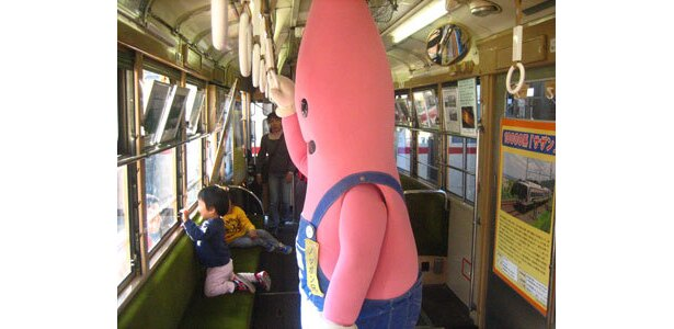 ノッポン兄、実は電車通勤?