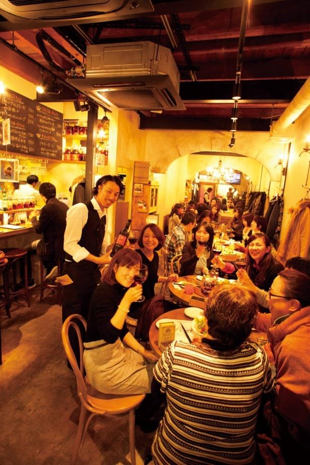 堺東を中心に新しい店が急増中! ワインが充実するおしゃれな女子酒場が大人気!