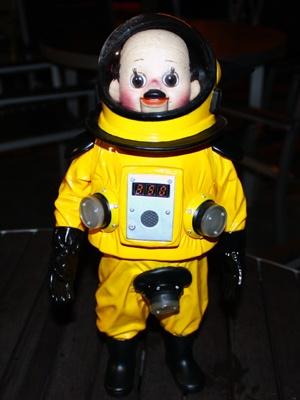 普通の人形の「トらやん」。今オークションでは相当な高値がつくのだそう