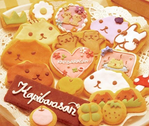クッキーをモチーフにしたカピバラさんのkyururun♪cookies