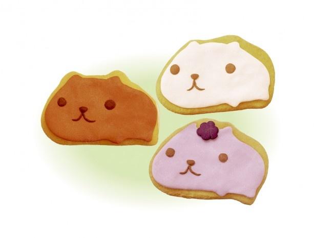 コラボカフェ限定販売のアイシングクッキー
