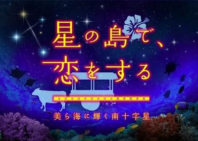 「星の島で、恋をする 美(ちゅ)ら海に輝く南十字星」番組タイトル