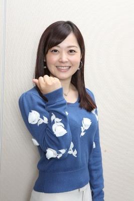 水卜麻美さんの女子アナファッション東京マラソン