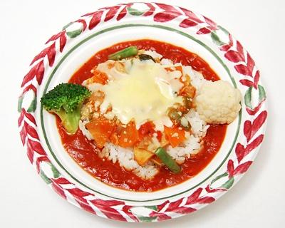 食欲出そう!タジンのトマトソースドリア(460円) 〜他のラインナップはこちらから〜