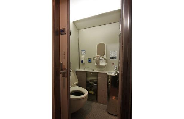 女性用トイレもある