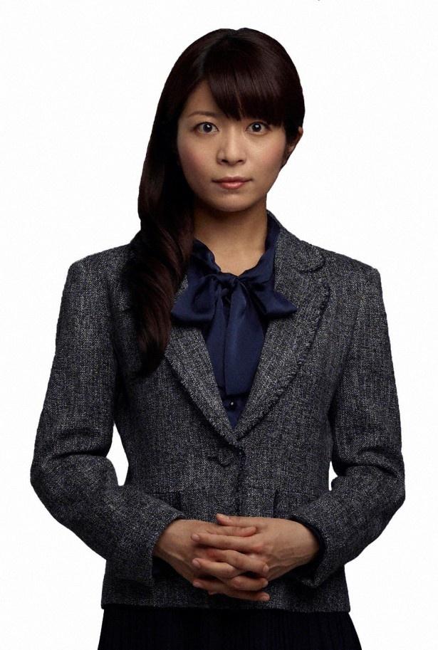 月曜ミステリーシアター「隠蔽捜査」で竜崎(杉本哲太)の娘・美紀を演じる三倉茉奈