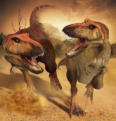 ド迫力のティラノサウルスは恐竜界のトップスター 〜他の恐竜はコチラから〜