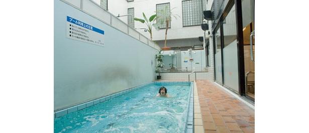 フルチン遊泳も可能!