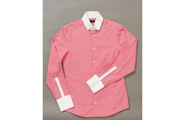 ピンクシャツ(メンズ) 5490円 ‐H&M‐