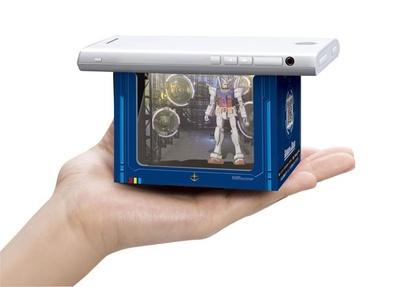 約8.5cmの箱の中に幻想的な映像空間が広がる