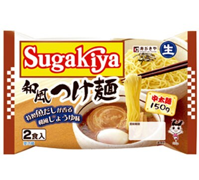 あなたの好みの具は?「Sugakiya 和風つけ麺」