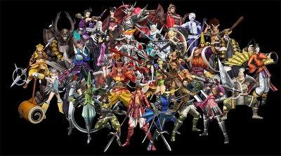 ゲームでは、総勢30武将が登場