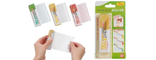 「NEW クレラップあぶらとり紙」は、全3種類。各315円で買える。