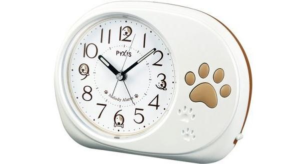 「犬の歌声で起きる目覚まし時計」(5250円)は、本物の犬の声を元に開発されたとか